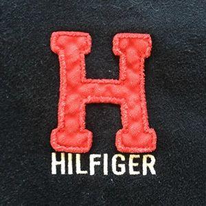 Tommy Hilfiger Women's 1/4 zip sweatshirt logo H